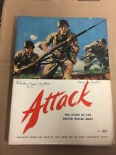 Army War Show Program Baltimore Stadium ATTACK Story Of The US Army 1942 Rare