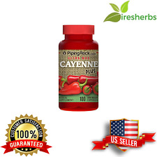 CAYENNE PEPPER PLUS GINGER ROOT HAWTHORN BERRY DIGESTION SUPPLEMENT 100 CAPSULES
