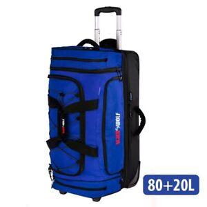 Blackwolf 1410 BLUE NEW Bladerunner 80+20L Wheeled Duffel/Duffle Bag