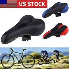 USA Comfortable Soft Pad Cushion Saddle Seat MTB Mountain Bike Road Bicycle
