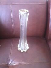 Edwardian Silver & Cut Glass Vase - Charles Boyton London 1902