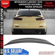 08-15 Mitsubishi Lancer EVO X 10 MR GSR JDM Duckbill RS ABS Rear Trunk Spoiler
