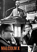 Malcolm X Poster Human Rights Activist Black History Photos Print (18x24)