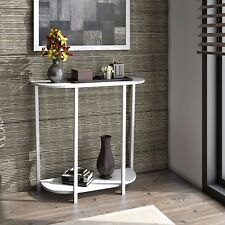 lifewit 2tier console table entryway table coffee table home decor modern style