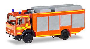 """Herpa 093996 Iveco Magirus Feuerwehr Rüstwagen """"Furt""""  HO NEU"""