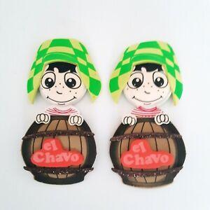 10 Pc El Chavo Del Ocho 3D Foam Decor Centerpiece Kids Party Favors Recuerdos