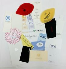 20 x Duftkarten / 20 x perfumed card / 20 x carte parfumée *LOT 003*