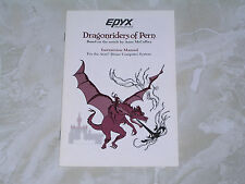 Dragonriders of Pern manual for the Atari 400/800/XL/XE/XEGS computer =
