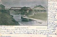 Postcard The Bridge HopBottom PA