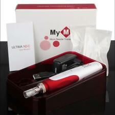 Anti Aging Electric MYM Derma Pen Stamp Auto Micro Needle Roller + 2 Cartridges