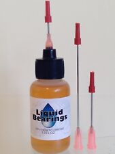 Liquid Bearings 100%-synthetic oil w/3 needles for Weltron 8-track & tape decks!
