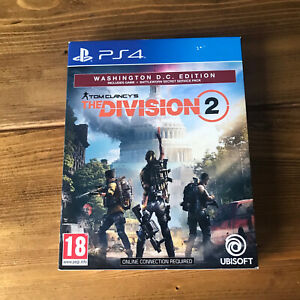 Tom Clancy's The Division 2 Washington D.C edition Game Sony PS4 Playstation 4