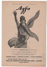 Pubblicità epoca 1927 AGFA FOTO PHOTO STANDARD advert werbung publicitè reklame