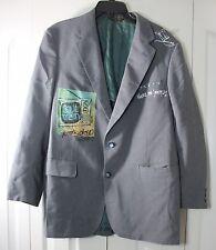 Demont Peekaso Men's Dress Jacket Charlotte NC Where I'm From Hand Painted