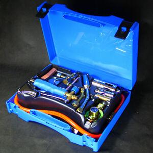 Lötkoffer Turbo-Lötprofi 2000 Gasbrenner zum hartlöten und weichlöten Lötbrenner