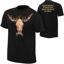 WWE The Rock Bull Skull Official T-Shirt New