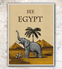 "Vintage Travel Poster Art Egypt 12x16"" Rare Hot New A31"