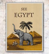 "Vintage Travel Poster Art Egypt 12x16"" Rare Hot New A31"