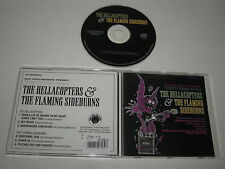 THE HELLACOPTERS & THE FLAMING SIDEBURNS/WHITE TRASH SOUL!(BAD AFRO/AFROCD008)CD