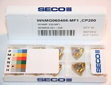 WNMG 332 MF1 CP200 SECO *** 10 INSERTS *** FACTORY PACK ***