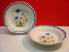 Mikasa China COUNTRY CLUB  Two Rimmed Soup Bowls