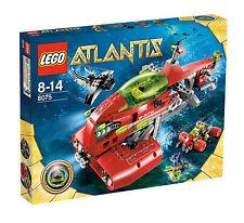 Lego ® atlantis 8075 Neptuno submarino nuevo embalaje original _ Neptune Carrier New misb NRFB