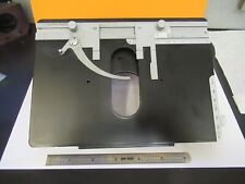 Leitz Orthoplan Stage Table Xy Micrometer Microscope Part As Pictured Amp11 B 115