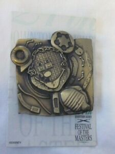 27 DOWNTOWN DISNEY FESTIVAL OF THE MASTERS PIN 2002 MICKEY MOUSE LIMITED EDITION