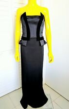 JONATHAN SAUNDERS Wool & Silk Gown Size 38 IT 2 US Retail $4,275.00!