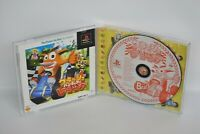 CRASH BANDICOOT RACING The Best Ref ccc PS1 Playstation Japan Game p1