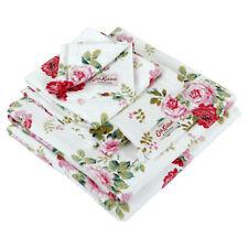 Cath Kidston Antique Rose Bouquet White Bath Towel 140x70