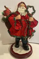 Stein Woodland Santa Decorative Christmas Statuette
