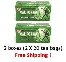 CALIFORNIA DIETERS DRINK - 2 BOXES / EXTRA STRENGTH 20 TEA BAGS