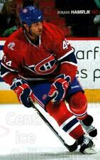 2009-10 Montreal Canadiens Postcards #11 Roman Hamrlik