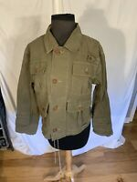 Ralph Lauren Cropped Military Jacket Womens Large