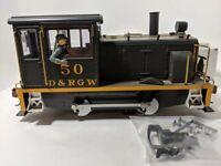 LGB 2063 DR & RGW Diesel 0-4-0 Switcher Locomotive USED