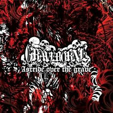 "Graveborne ""Astride Over The Grave"" Gatefold 10"" [ANTI-CHRISTIANITY BLACK METAL]"