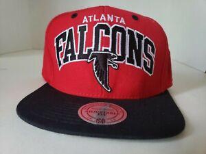 Mitchell & Ness Atlanta Falcon's NFL Arch Logo Adjustable Cap Hat ATL