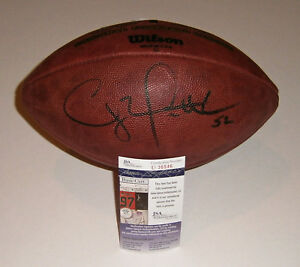 PACKERS Clay Matthews signed NFL Duke game football JSA COA AUTO Autographed