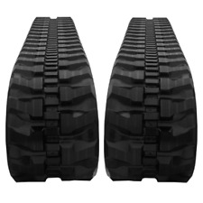 Two Rubber Tracks Fits Takeuchi Tb025 Tb125 Tb225 300x525x78 Free Shipping