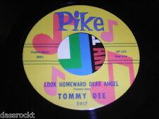 """7"""" Tommy Dee / Look homeward dear Angel & Missing on a Mountain - US Pike # 3348"""
