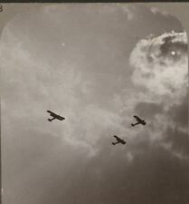A Squadron of Giant Planes off on Moon-Light Raid to Bomb Objectives in Germany
