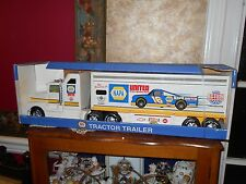 Vintage 1996 Nylint  Napa Auto Parts Tractor Trailer Truck  Ron Hornaday NRFB
