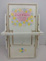 BABY ALIVE Vintage 1976 Nursery Cenyer Toy Kenner Pink Set Pretend Doll RARE Vtg