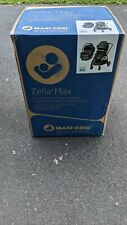 Maxi-Cosi Zelia Max 5-in1 Travel System in Umber Black w/ Mico MAX 30 Car Seat