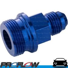 """PROFLOW Holley / Demon Inlet Feed 9/16"""" x 24 to AN -6 Short Blue"""