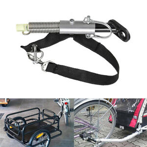 Bike Bicycle Coupler Hitch Trailer Baby Linker Connector Universal Accessories