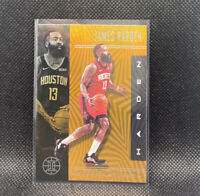 James Harden Orange SSP 2019-20 Panini Illusions NBA #35 Houston Rockets