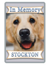 PERSONALIZED PET SIGN YOUR PHOTO/TEXT ALUMINUM FULL COLOR CUSTOM ART PANEL 7