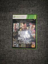 Grand Theft Auto IV: The Complete Edition (Microsoft Xbox 360, 2017)